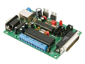 8-channel TCP/IP card AVR-NET-IO