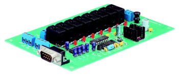Serial 8-channel relay board Conrad