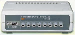 Serial 8-channel switch interface ELV CSI 7002