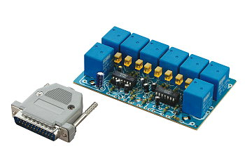 Parallel 8-channel relay board Kemo B210