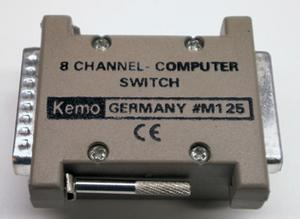 Parallel 8-channel relay module Kemo M125