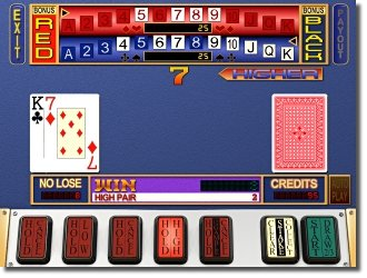 MegaBonus VideoPoker slot machine