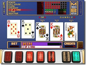MegaBonus - VideoPoker slot machine