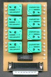 Parallel 8-channel relay board Weidner PC-REL-F