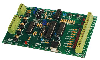 8-Channel USB card Velleman